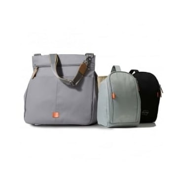 PacaPod Oban Baby Messenger Changing Bag Elephant