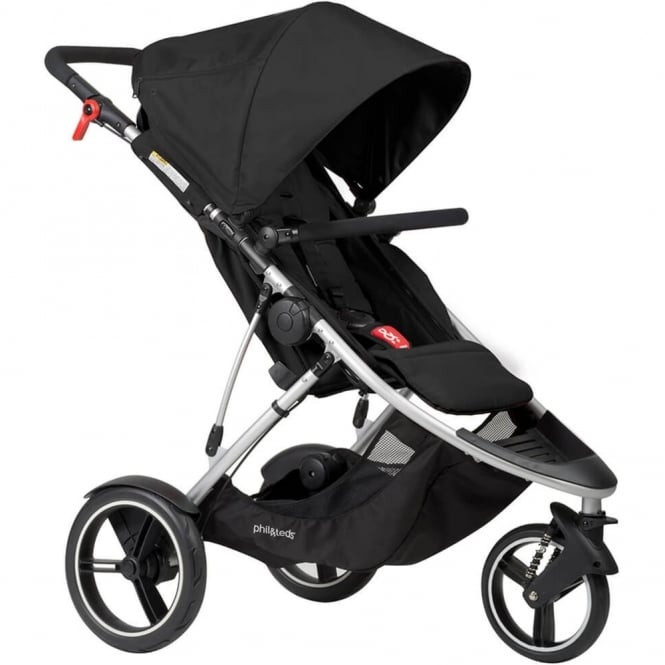 Phil & Teds Phil & Ted's Dash Pushchair Black