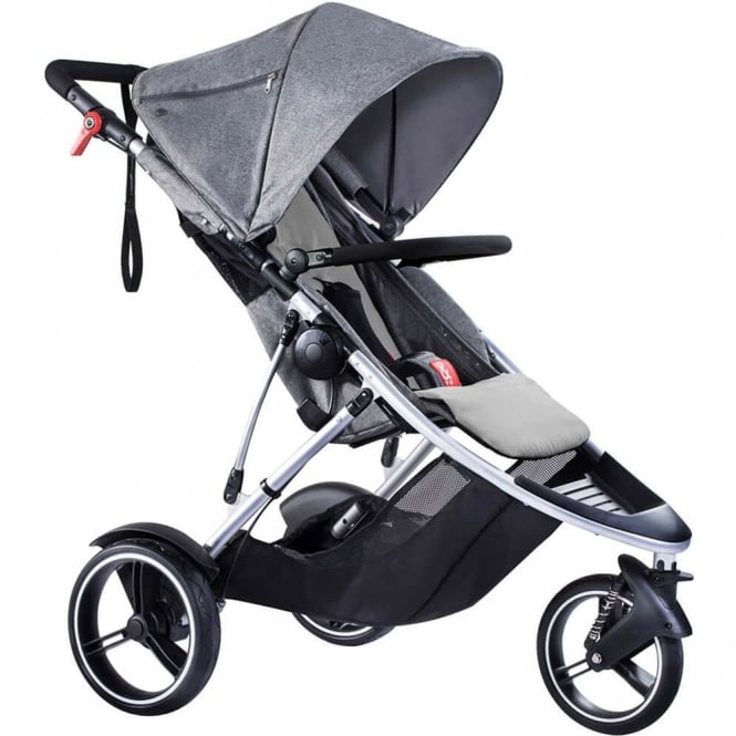 Phil & Teds Phil & Ted's Dash Pushchair Grey Marl