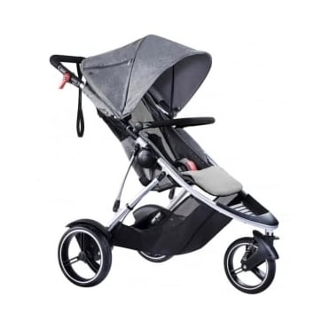 Phil & Ted's Dash Pushchair Grey Marl