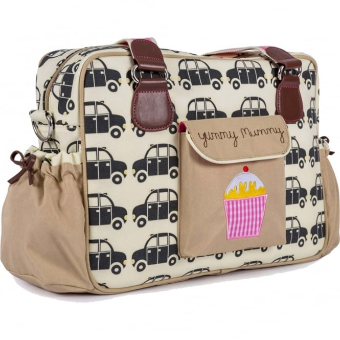 Pink Lining Yummy Mummy Changing Bag Black Cabs