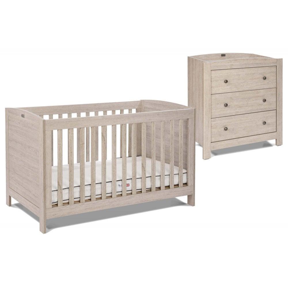 Silver Cross New England 2 Piece Nursery Furniture Set At W H Watts