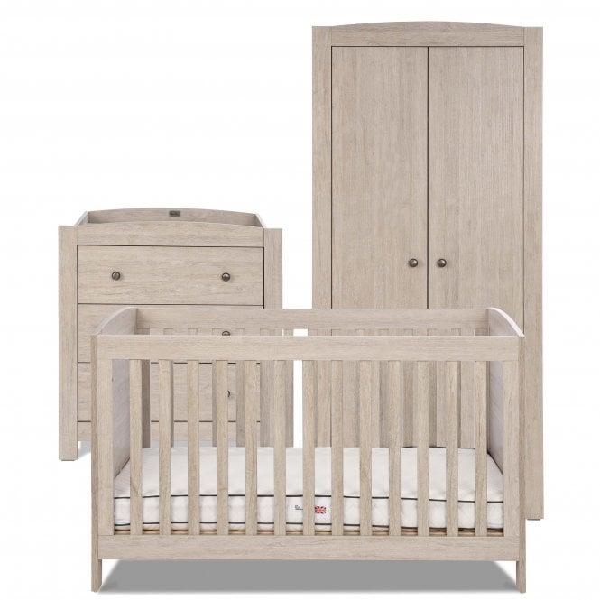 silver cross new england nursery furniture set at w h. Black Bedroom Furniture Sets. Home Design Ideas