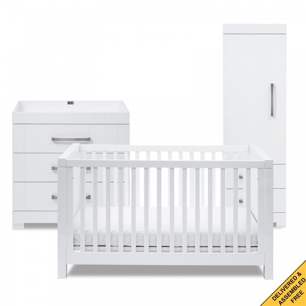silver cross notting hill nursery furniture set single. Black Bedroom Furniture Sets. Home Design Ideas