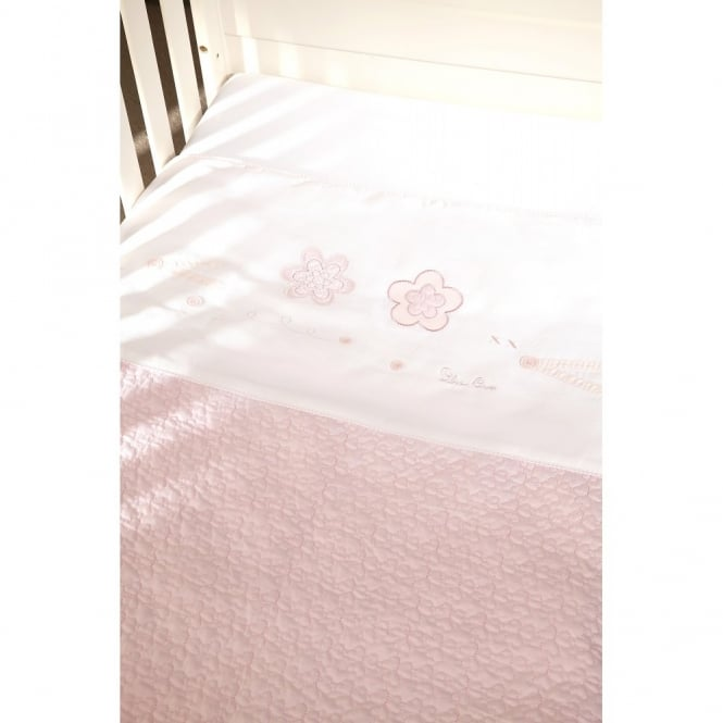 Silver Cross Vintage Pink Coverlet