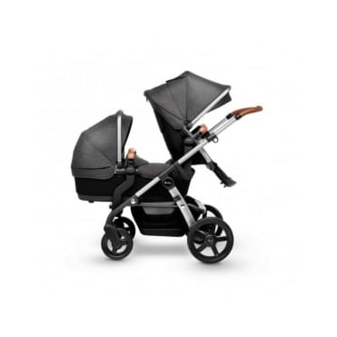 Silver Cross Wave Duo Pram Granite
