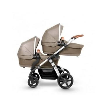 Silver Cross Wave Twin Pram Linen
