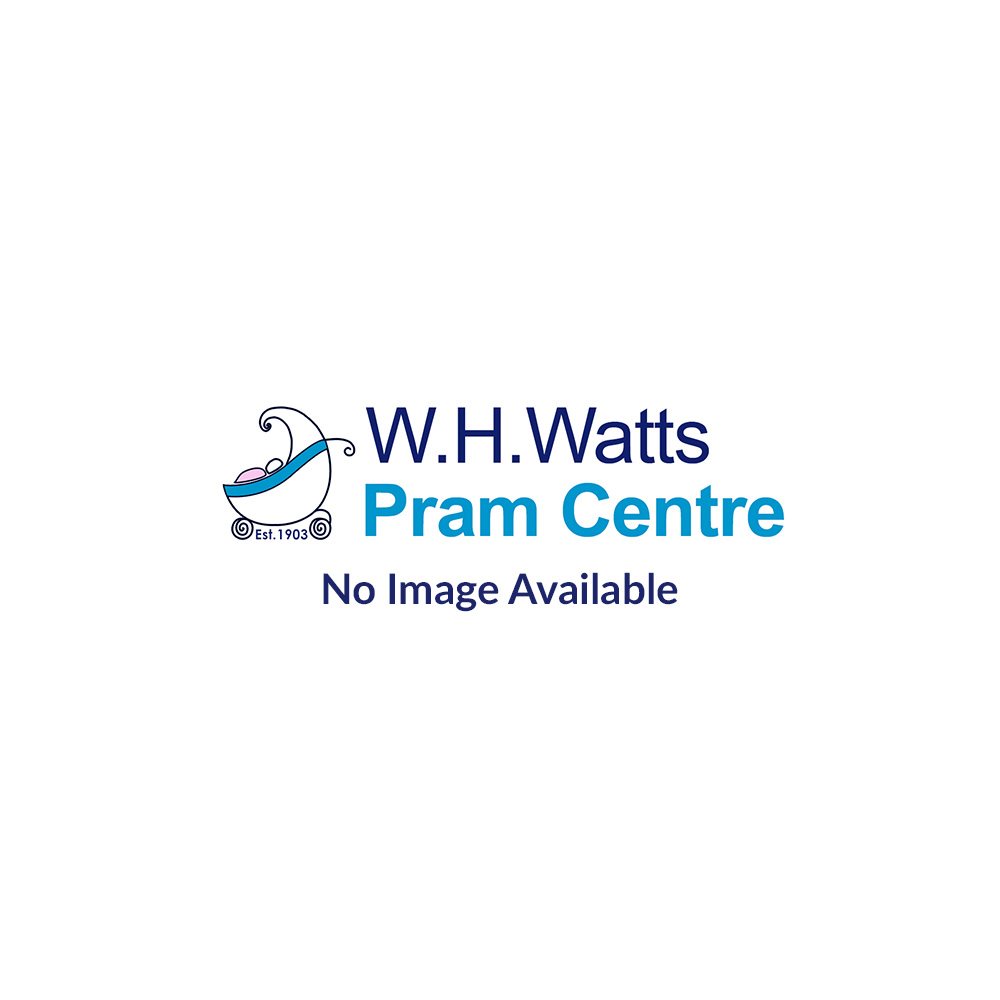 SNUZ Moses & Pram Fitted Sheets 2 Pack - Cloud Nine