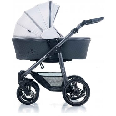 Venicci Light Grey Carbo Lux Edition 3in1 Travel System