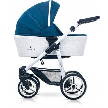 Venicci Pure Leatherette 3in1 Travel System - Ocean Blue