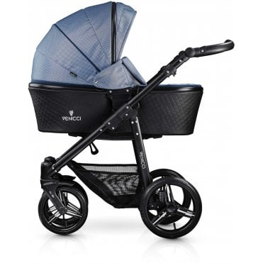 Venicci Shadow Special Edition All In One Pram - Midnight Blue